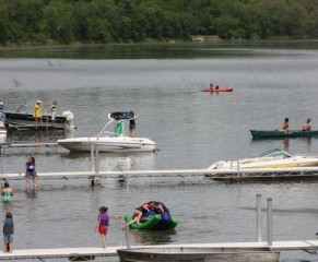 swim area with activity 2012